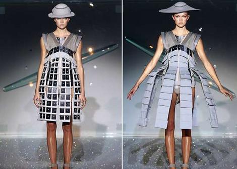 Chalayan transformer dress