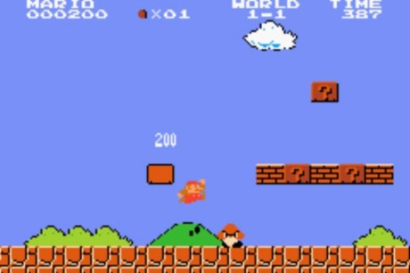 old school super mario brothers